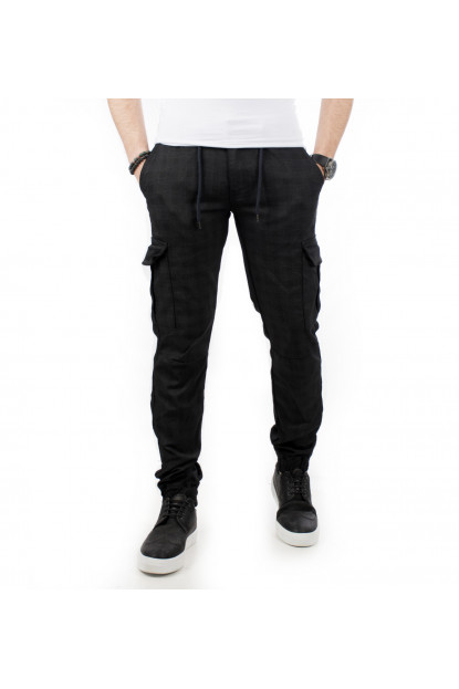 DeepSEA Brand  Spoon and Waist Rubbery Laced Mens Cargo Pants 1601569