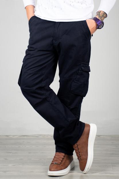 DeepSEA Yandan Cepli Geniş Kesim Mevsimlik Erkek Kargo Pantolon 1705421