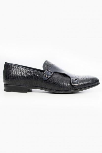 DeepSEA Hasır Örgü Desenli Yeni Sezon Deri Erkek Ayakkabı 1909785
