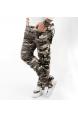 DeepSEA Likralı Dar Kesim Atlantic Erkek Kamuflaj Pantolon 1601193