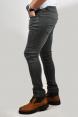 DeepSEA Likralı Slim fit Taşlama Kot Pantolon 2002163