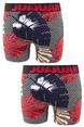 DeepSEA Erkek 2 Li Desenli  Penye Baksır 2107184