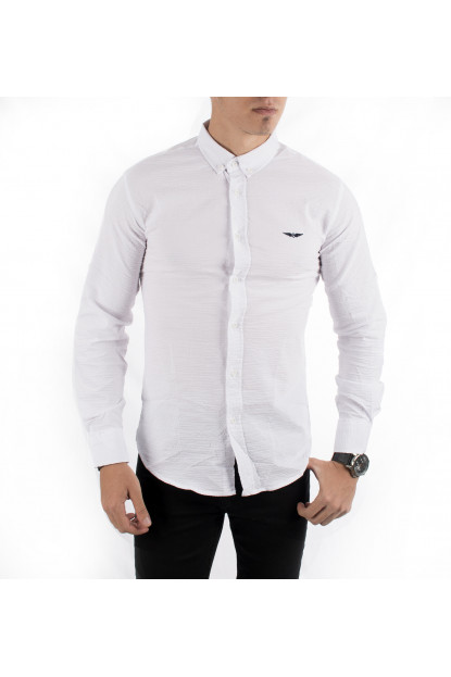 e72fab0161f DeepSEA Flower Pattern Long Sleeve Lycra Sport Men s Shirt 1701375