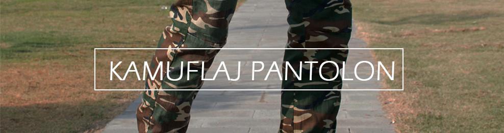 Kamuflaj (Askeri) Pantolon